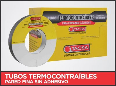 Tubos termocontraíbles libre de halógenos de TACSA