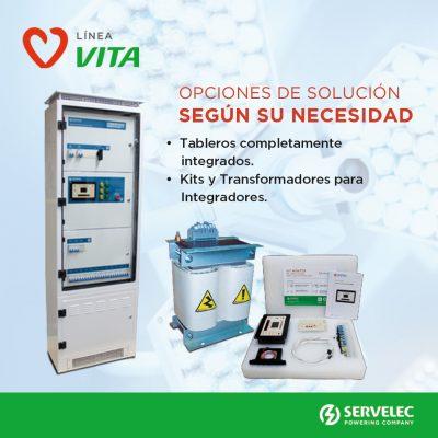 VITA, la marca de SERVELEC para dar cobertura a quirófanos y establecimientos hospitalarios