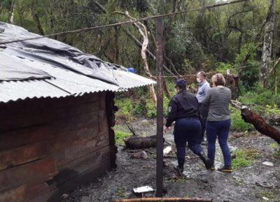 Dos niños murieron electrocutados en una comunidad mbya