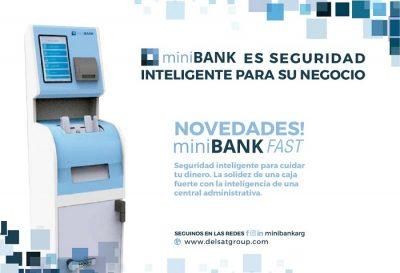 miniBANK Fast, lo nuevo de Delsat Group S.A.